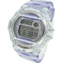 Casio Baby-g Digital 200m Resin Ladies Watch Bg169r-6