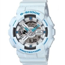 Casio G-Shock GA110 Watch - White - White regular