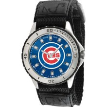Chicago Cubs Men's Adjustable Sports Watch