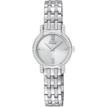 Citizen Ex1240-51a Women's Silhouette Crystal Eco-drive Stainless Steel Watch