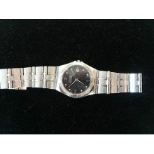 Citizen Men's Eco Drive Stainless Steel Diamond Bezel Watch