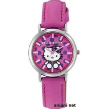 Citizen Q&q Hello Kitty Analog Display Two-tier Pink Q731-630 Ladies Watch