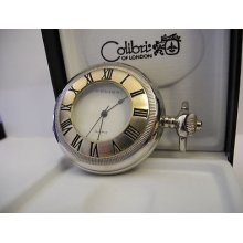 Colibri Two Tone Hunter Open Cover Pocketwatch
