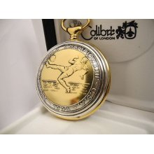 Colibri Twotone World Cup Champion Pocket Watch Football Soccer