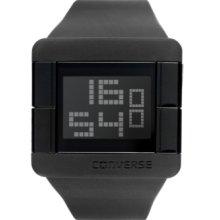 Converse Watch, Unisex Digital High Score Black Silicone Strap 47mm VR
