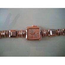 Designer Western Style Rose Gold Fashion Watch