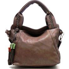 Deyce Fashion Tassel Kaelyn Shoulder Bag Hobo Satchel Tote Purse