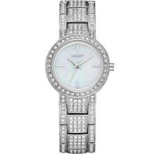 Dkny Women's Stainless Bracelet Watch Ny8051