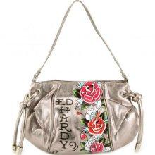 Ed Hardy Handbags - Gabrielle Live Love Luck Shoulder Bag