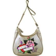 Ed Hardy Handbags - Jane Eternal Love Crossbody Bag
