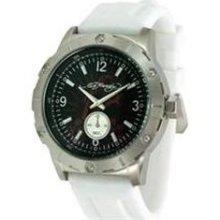 Ed Hardy Matrix White Men's watch #MX-WH