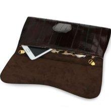 Es1 Jumiss Eel Skin Leather Clutch Bag, 274gram, Korea Kangnam Style, High