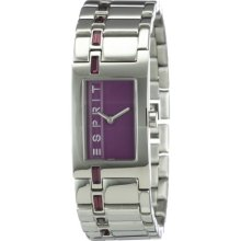 Esprit Ladies Wristwatch Starline Purple Houston A.Es900022009
