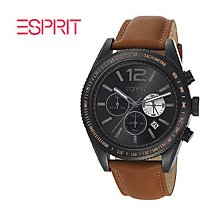Esprit Mens Watch Verdugo Chronograph Brown ES104111003