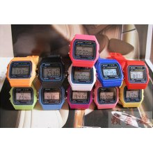 Fashion Blue Light Led Digital Alarm Clock Sport Children Boy Girl Watch