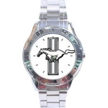Ford Mustang - Stainless Steel Analogue Men's Watch