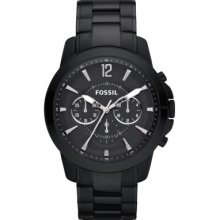 Fossil Fs4723 Mens Grant Black Chronograph Watch Rrp £135