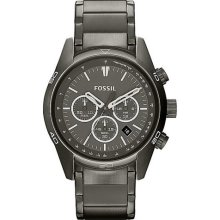 Fossil Men's Wallace CH2840 Grey Stainless-Steel Quartz Watch with