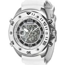 Freestyle Precision 2.0 White Ana-Digi Grey Dial Men's watch