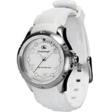 Freestyle Women's Hammerhead Xs Waterproof Watch With Polyurethane Strap White