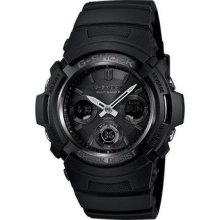 G-shock Analog Awgm100b-1acr Solar Atomic Watch