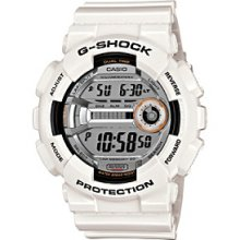 G-Shock Xl Men's White Digital Runner's Watch Men's