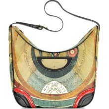 Gattinoni Designer Handbags, Planetarium - Large Shoulder Bag