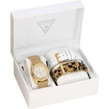 GUESS Feminine Classic Hi-Energy Watch - Gold