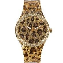Guess U0015L2 Women Leopard Watch