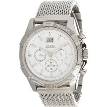 Guess U21502g1 Chronograph Stainless Steel Mesh Men's Watch