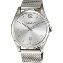 Hamilton Jazzmaster Silver Dial Stainless Steel Automatic Mens Watch H38615255