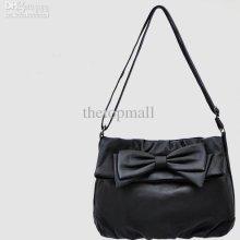 Hb475 Chic Black Pu Shoulder Bag