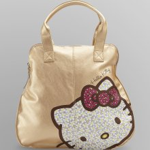 Hello Kitty Hello Kitty Women's Metallic Satchel
