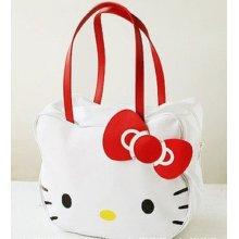 Hello Kitty Lady Girl Fashion Shoulder Tote Shopping Bag Travel Luggage Handbag - Other Beige