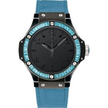 Hublot Big Bang Black Tutti Frutti Blue Watch 361.CL.1110.LR.1907