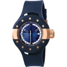 Invicta 11978 S1 Rally Blue Dial Blue Polyurethane Men's