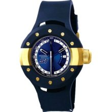 Invicta 11982 S1 Rally Blue Dial Blue Polyurethane Men's