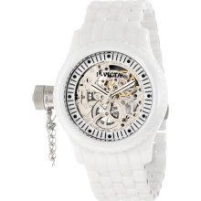 Invicta 1896 Women's Russian Diver Lefty Skeleton Dial Ceramic Bracelet Watch