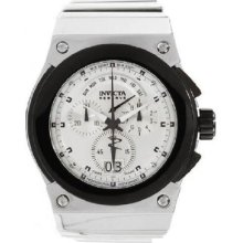 Invicta Men's Akula Reserve Chrono Silver Dial Stainless Steel Watch 11933