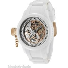 Invicta Watch 1827 Women's Russian Diver Mechanical White Poly Watch $995