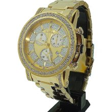 Joe Rodeo Trooper 3.25 ct Diamond Mens Watch JTRO7