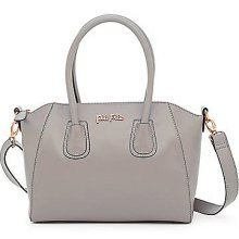 K Vintage Grey Satchel Handbag