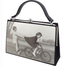 Karen Marie - Boutique Bags - Bicycle Kids Medium Acrylic Pop-Art Tote