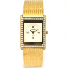 Ladies 18k Yellow Gold And Diamond Concord Watch