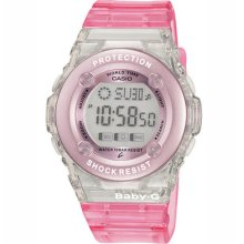 Ladies Baby-g Pink Digital Sports Watch Boxed - Rrp £59.99