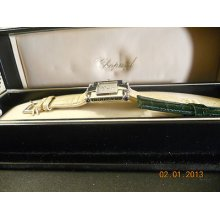 Ladies Chopard Imperiale Solid 18k White Gold With Diamond Dial Perfect Cond.