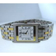 Ladies Concord Two Tone 18k Yellow Gold & Stainless Steel Watch