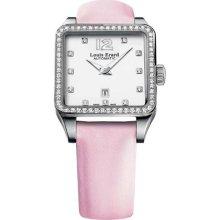 Louis Erard Women's 20700SE11.BDS60 Emotion Square Automatic Pink ...