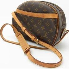 Louis Vuitton Authentic Monogram Blois Cross Body Shoulder Bag Auth