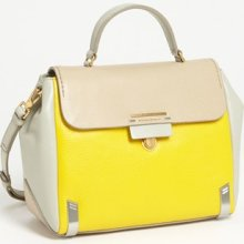 MARC by Marc Jacobs 'Sheltered Island - Colorblock' Leather Satchel, Medium